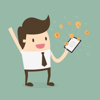 Diseño de ganar dinero en internet