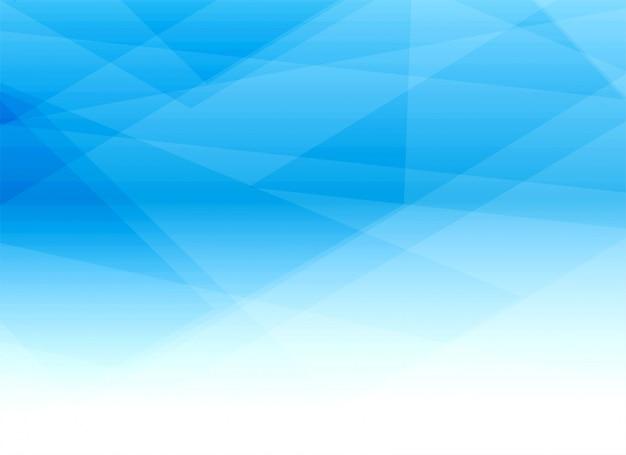 Diseño geométrico azul abstracto del fondo de las formas