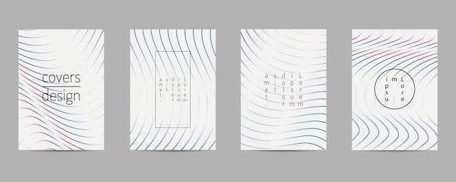 Diseño geométrico de plantilla de cartel.
