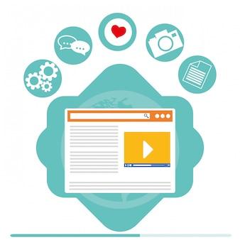 Diseño de gestión de blog