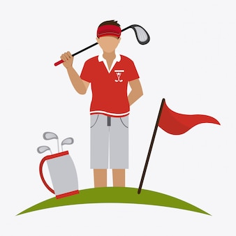 Diseño de golf