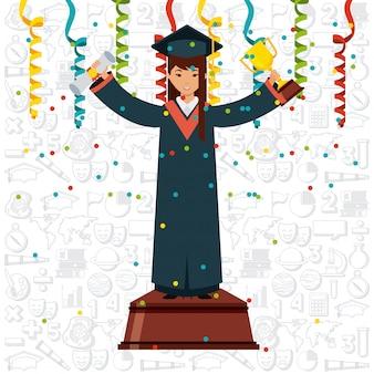 Diseño de graduación logro