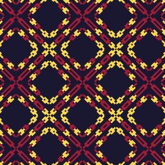 Diseño gráfico étnico decoración patrón abstracto fondo vector