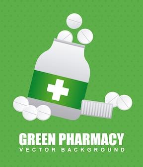 Diseño gráfico de farmacia