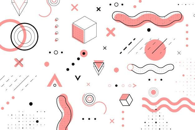 Diseño gráfico fondo geométrico