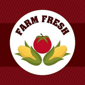 Diseño gráfico de granja