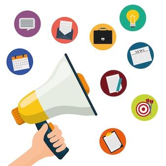 Diseño gráfico de marketing digital y publicidad
