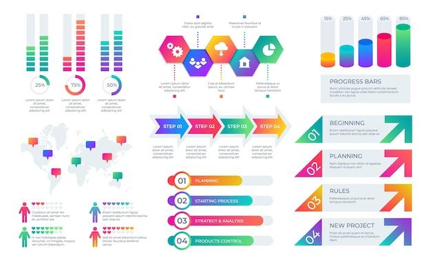 Diseño gráfico de presentación empresarial