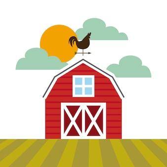Diseño de granero de granja