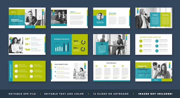 Diseño de guía de folleto de presentación comercial o plantilla de diapositiva de presentación o control deslizante de guía de ventas