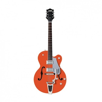 Diseño de guitarra eléctrica