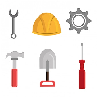 Diseño de herramientas de construcción.
