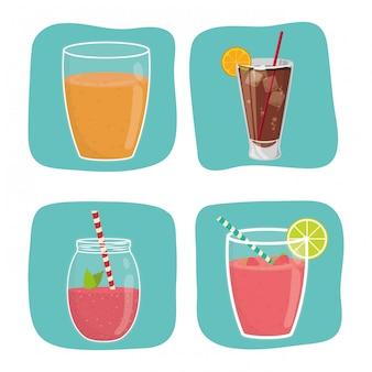 Diseño de icono de bebida