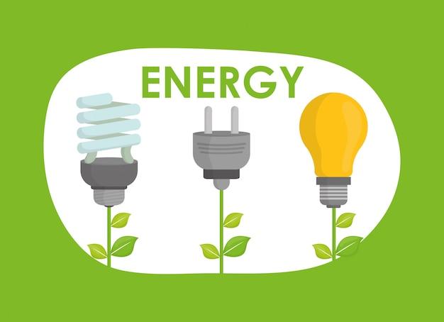 Diseño de icono de ecología