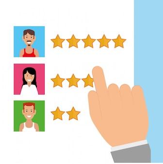 Diseño de icono de encuesta