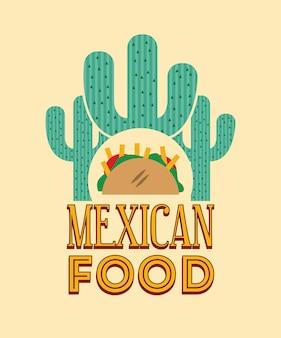 Diseño de icono mexicano