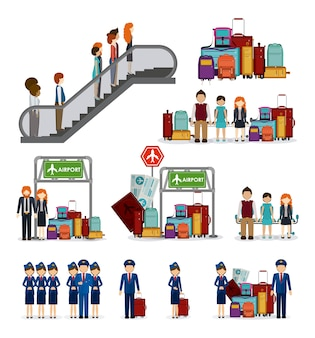 Diseño de icono de viaje