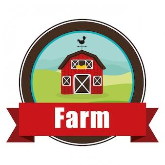 Diseño de iconos de granja