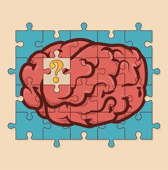 Diseño de la idea, ilustración vectorial