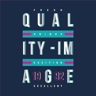 Diseño de imagen de calidad camiseta concepto urbano