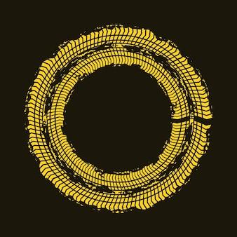 Diseño de impresión de la rueda