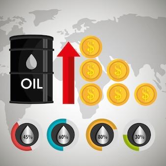 Diseño de la industria petrolera.