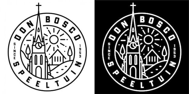 Diseño de la insignia de don bosco