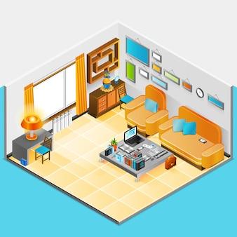 Diseño de interiores de casa