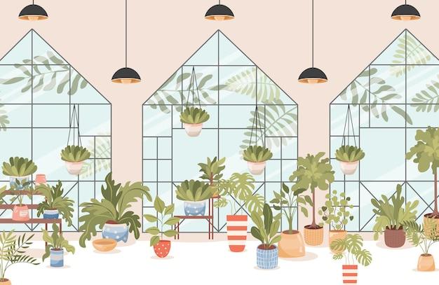 Diseño de interiores de floristería