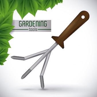 Diseño de jardinería.