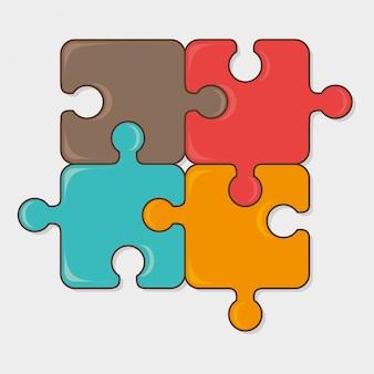 Diseño de juegos de puzzle.