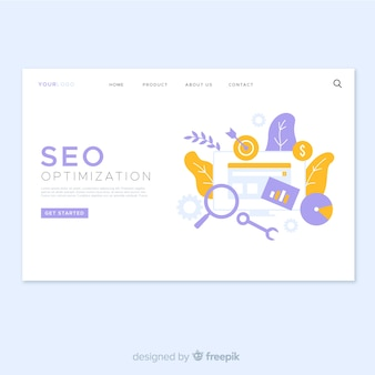 Diseño de landing page para optimización seo