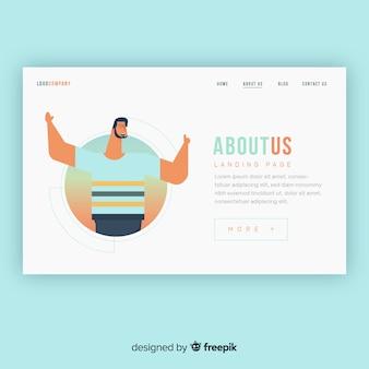 Diseño de landing page, página de destino, página de aterrizaje para empresas