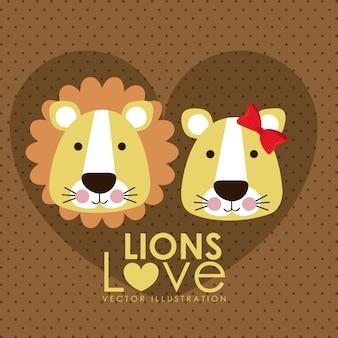 Diseño leones