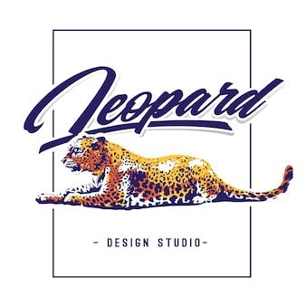 Diseño de leopardo