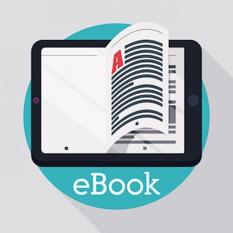 Diseño de libros electrónicos.
