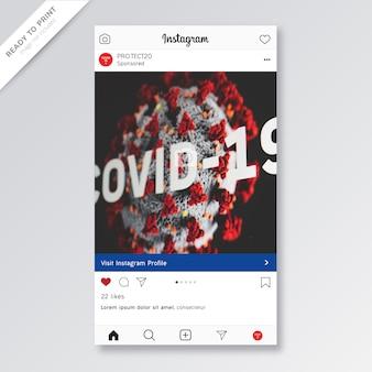 Diseño en línea del presente social covid-19