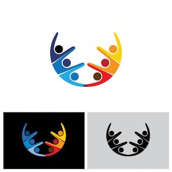 Diseño de logo abstracto