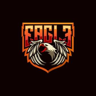 Diseño de logo de águila