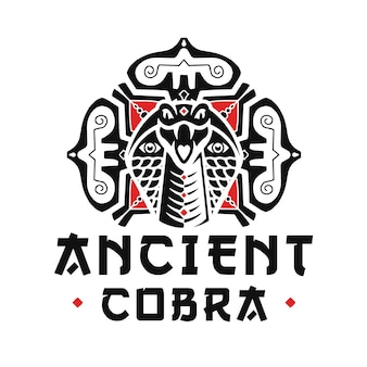 Diseño de logo de artes marciales cobra
