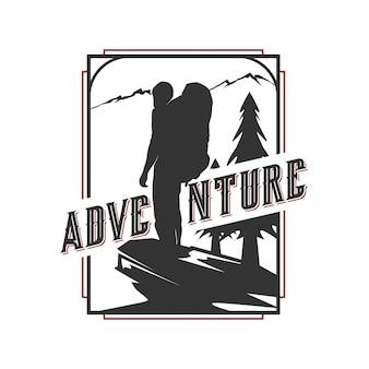 Diseño de logo de aventura