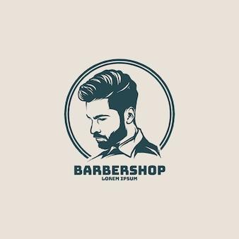 Diseño de logo de barbería