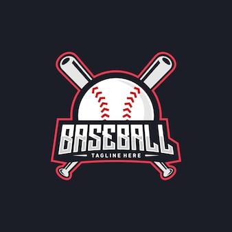 Diseño de logo de beisbol