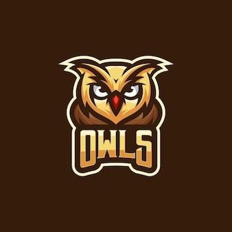 Diseño de logo de búho