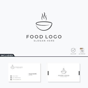 Diseño de logo de comida