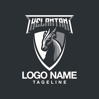 Diseño de logo de cordero
