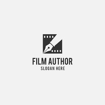 Diseño de logo creativo para cine.