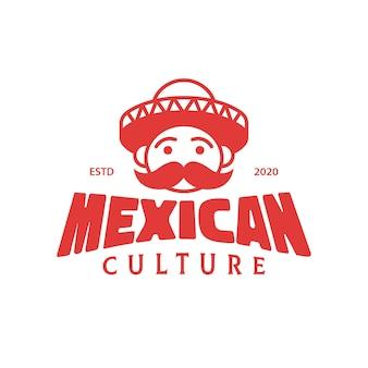 Diseño de logo de cultura mexicana