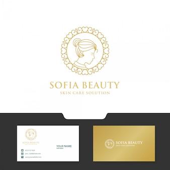 Diseño de logo femenino