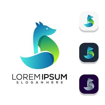 Diseño de logo de fox